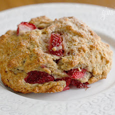 Low Fat Strawberry Scones