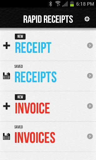 Rapid Receipts