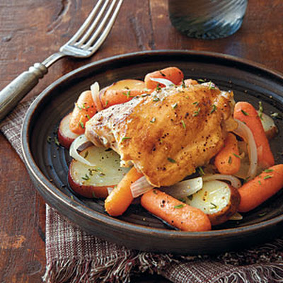 Chicken with Carrots and Potatoes