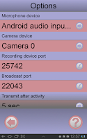 Screenshot of Baby Monitor AV