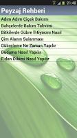 Screenshot of Peyzaj Soru Cevap