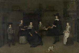 RIJKS: attributed to Caspar Netscher: painting 1684