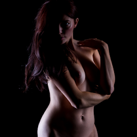 Hot Shadows by Paul Phull - Nudes & Boudoir Artistic Nude ( body, pose, art nude, lighting, shadows )