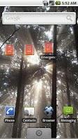 Screenshot of Emergency Wallpaper Change App