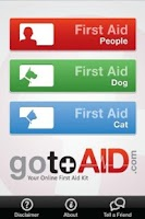 Screenshot of GotoAID First Aid