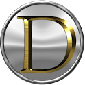 D Gold Medallion icon