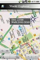 Screenshot of WorldExplorer- map & ebook