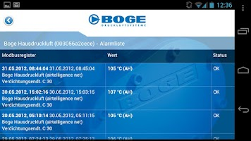 Screenshot of BOGE
