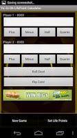 Screenshot of Yu-Gi-Oh Life Point Calculator