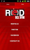 Screenshot of RED 93.1 FM - Vancouver