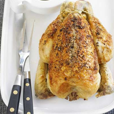 Classic Roast Chicken & Gravy