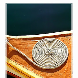 Rope at 360 Degrees by Francis Xavier Camilleri - Abstract Patterns ( creative photography, close-up, shapes )