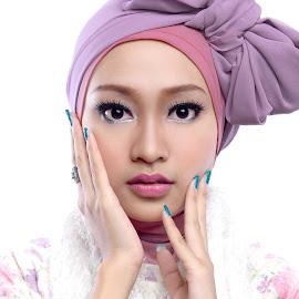 Colors by Dika Djiko - People Portraits of Women ( fashion, color, makeup, woman, hijab, portraits )