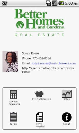 Sonya Rosser's Mtg Advisor