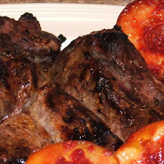 Barefoot Contessa's Grilled Leg of Lamb With Roasted Fruit