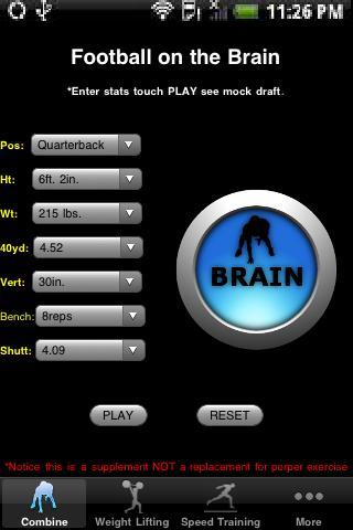Football Brains