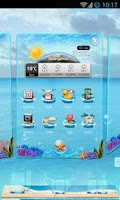 Screenshot of Next Launcher Theme Beachtour