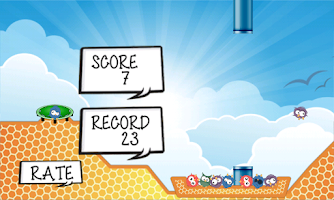 Screenshot of Smashy Bird