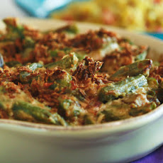 Ryan Scott's Green Bean Casserole with Celery Root and Bacon