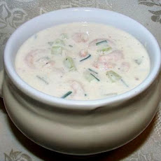 Buttermilk and Shrimp Soup