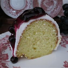 Bundt Cake Fruit Celebration