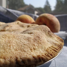 Simple Peach Pie