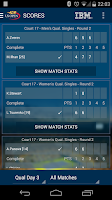 Screenshot of US Open Tennis Championships