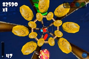 Screenshot of Tunnel Ball 3D