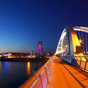 Apollo Bridge by Matej Kováč - Buildings & Architecture Bridges & Suspended Structures ( bridge,  )
