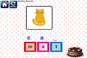 Screenshot of Phonics Reading Kindergarten 1