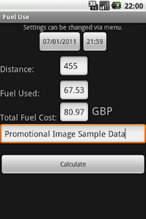 Fuel Use - screenshot