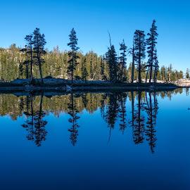 Mountain Lake 3 by Mark Cote - Landscapes Waterscapes ( 10 lakes, mountain lake, reflections, yosemite national park,  )