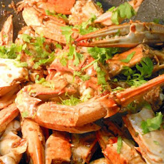 Asian Black Pepper Crab