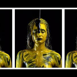 Three  by Marc Steiner - People Body Art/Tattoos