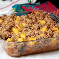 Mango Crumble Breakfast Bake