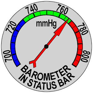 Barometer In Status Bar