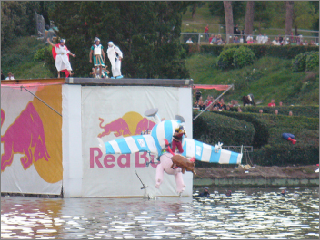 Red Bull Flugtag Sicherheit Training