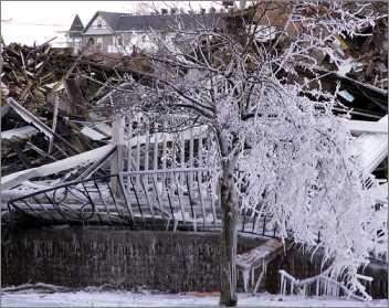 Die globale Erwärmung hat auch die Talstation von einem beliebten griechischen Ski Paradies erreicht