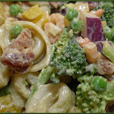 Curry Shrimp Pasta Salad