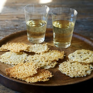 The Country Cooking of Italy's Frico or Friulano Cheese Crisps