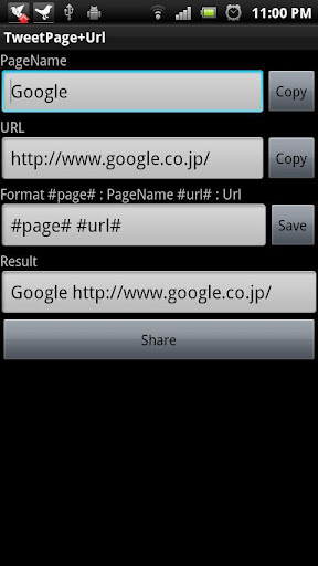 TweetPage+Url