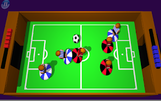 Screenshot of Flick It Football 3d