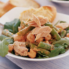 Tuna-Garbanzo Salad