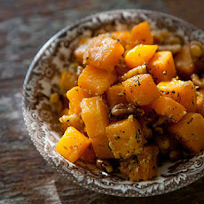 Butternut Squash with Walnuts and Vanilla