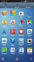 Screenshot of Galaxy S4 Go launcher EX Theme