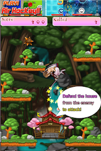 Ninja Girl Defense War!! - screenshot
