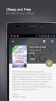 Screenshot of eReader Prestigio Book reader