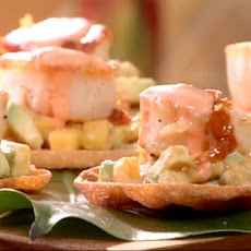 Scallops with Mango and Avocado