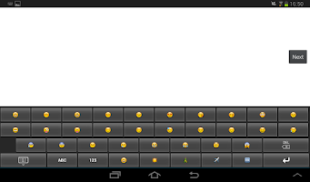 Screenshot of Emoji Keypad