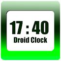 Droid Clock - clock widget icon